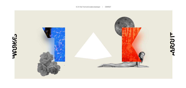 3D lite elements in web design