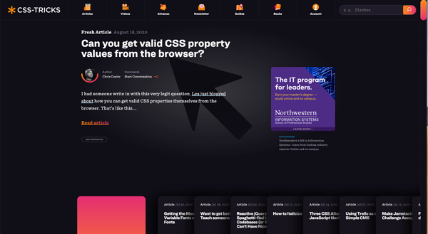 Accentuating dark mode with luminous colour schemes