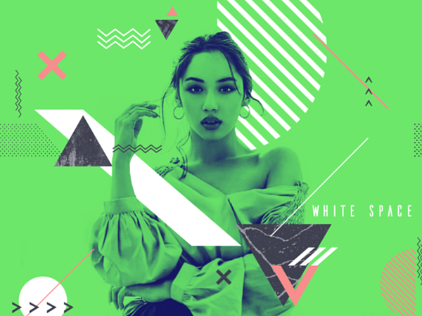 Combining photography and graphics is a top web design trend in 2020
