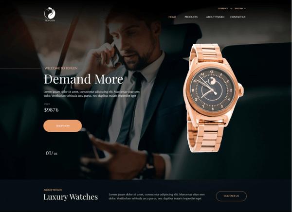 Dark mode in website design