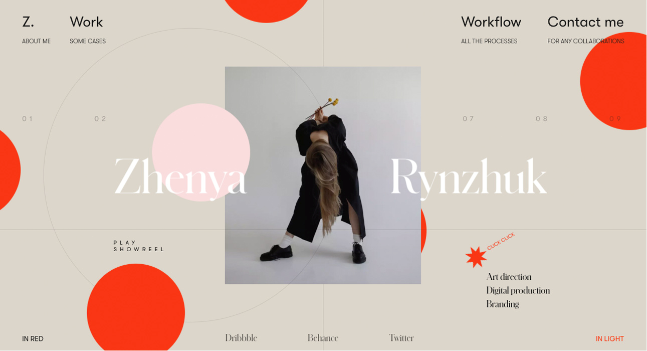 Mixing photography with graphics in web design