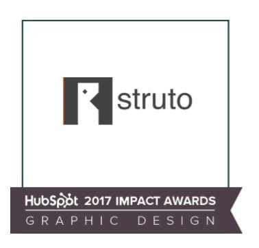 Struto HubSpot Impact Award Win.jpg