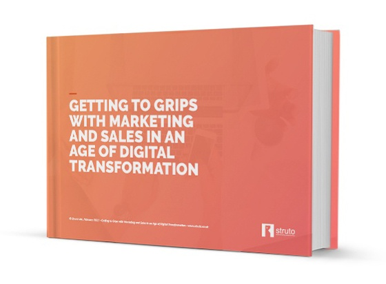 marketing and sales thriving in a time of digital transformation