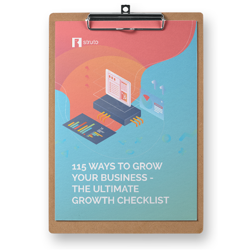 Download our 115 Ways to Grow your Business Checklist